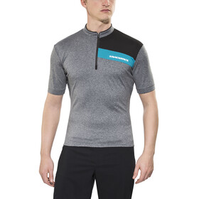 Race Face Podium Jersey Men charcoal/turquoise